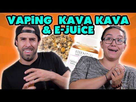 First-timers Vaping Kava Kava & E-Juice with Davinci Ascent Vaporizers