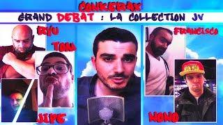 LE GRAND DÉBAT SUR LA COLLECTION DE JEUX ! (FEAT. 5 COLLECTIONNEURS)
