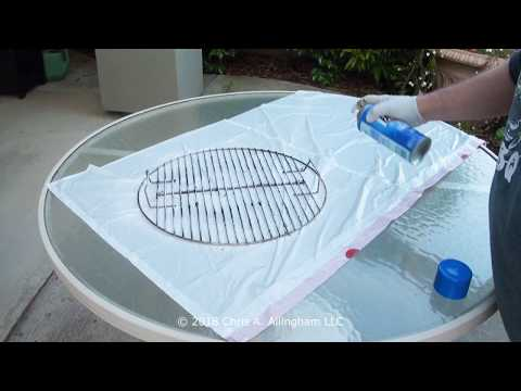 Cleaning Cooking Grates In Your Weber Smokey Mountain Cooker - TVWB - virtualweberbullet.com