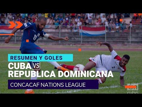 HIGHLIGHTS Cuba vs República Dominicana Liga de Naciones GolCuba 2018