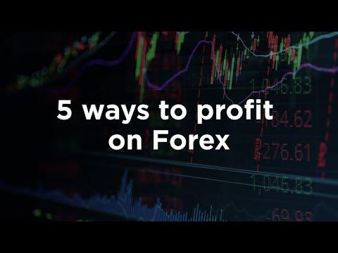 Webinar for beginners: 5 ways to make money on Forex
