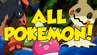 Pokemon Sun and Moon FULL NEW POKEMON DISCUSSION! ALL NEW ALOLA POKEMON ABILITIES!