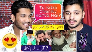 INDIANS React To Pakistans 7 Most Charitable People Of Pakistan | Shahid Afridi, Imran Khan.
