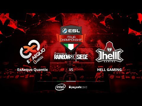 Rainbow Six Siege - Aexaequo Quantix vs Hello Gaming - ESL I