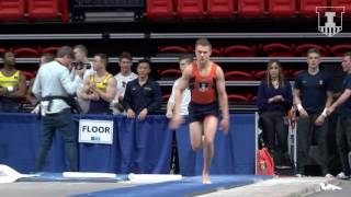 Illinois Men's Gymnastics Highlights | 2017 B1G Championships