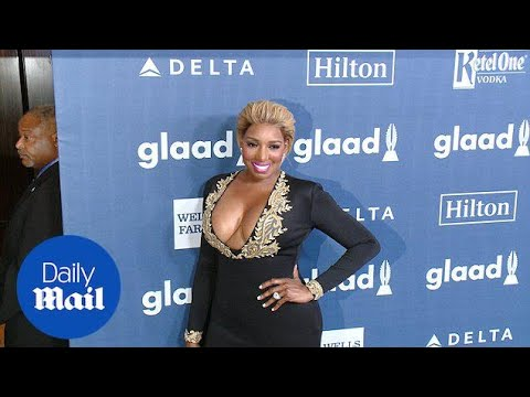 Real Housewife NeNe Leakes Shows Moxie In Plunging Neckline - Daily Mail