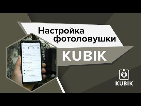 Настройка фотоловушки KUBIK