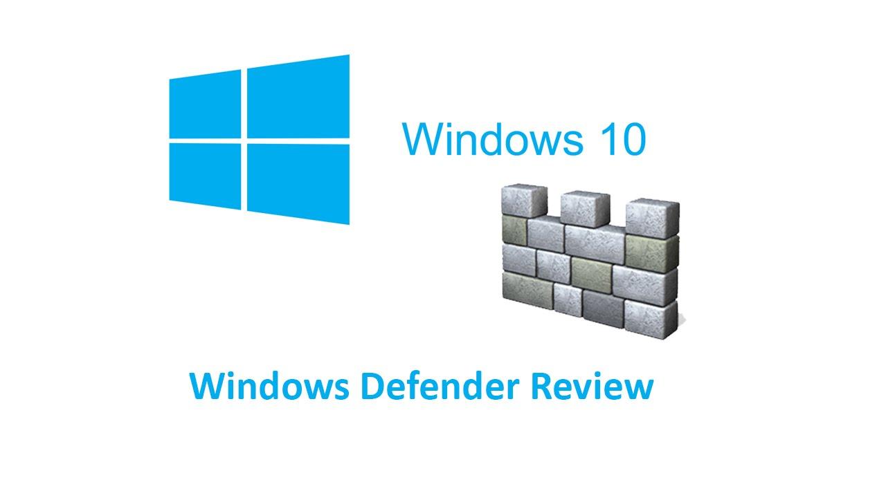 Windows 10 Defender