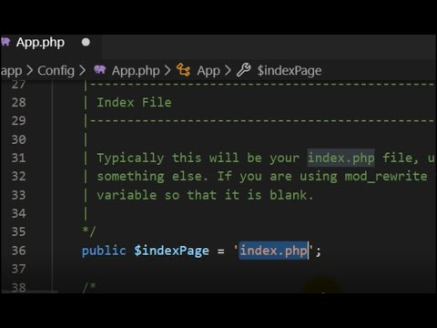 Removing Index.php From Url In Codeigniter 4