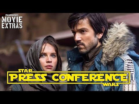 Rogue One: A Star Wars | Complete Press Conference With Cast, Director And Producers