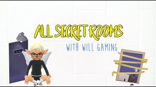 All Secret Rooms 2018 || Hotel Hideaway