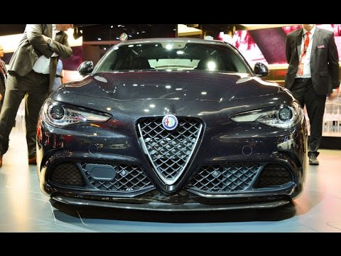 2017 alfa romeo giulia review rendered price specs release date youtube. Black Bedroom Furniture Sets. Home Design Ideas