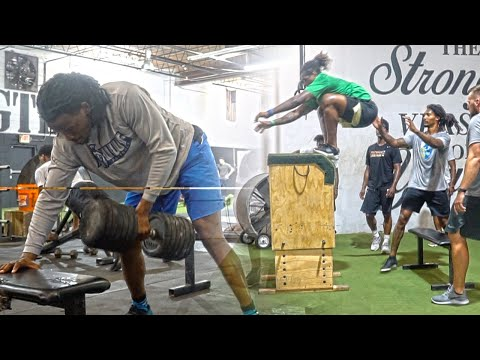 Plyometrics and Strength Training for Football