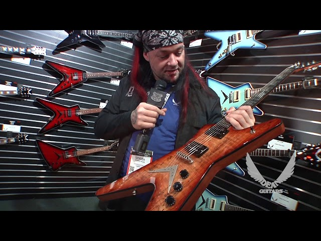 NAMM 2018 Dean Guitars- USA ML SPALT CUSTOM