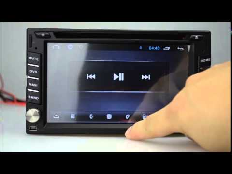 6 2 Quot Andriod Car Dvd Player Gps Universal Gps 2 Din