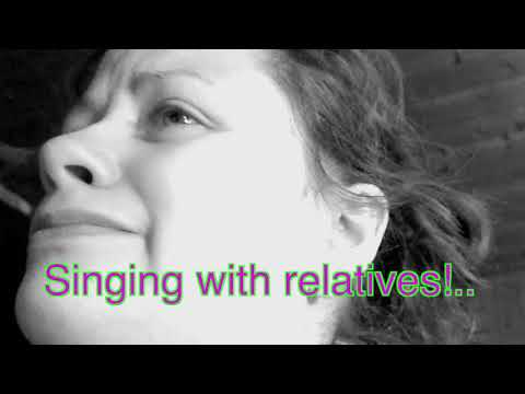Singing with relatives today! | Mali
