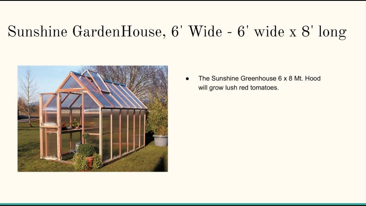 Plexiglass Greenhouse Kits