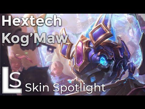 Hextech KogMaw - Skin Spotlight - Hextech Collection - League of Legends - Patch 10.8.1