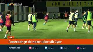 #CANLIYAYIN - Fenerbahçe'nin yeni transferi Falette ilk antrenmanına çıktı
