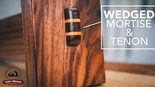 Wedged Mortise and Tenon - Joint of the Week