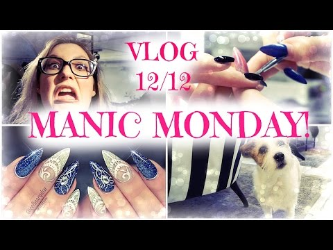 Vlog | MANIC MONDAY AT THE SALON!