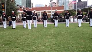 USMC Close Order Drill Team