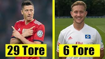 Der beste Torschütze jeder Bundesliga-Mannschaft !