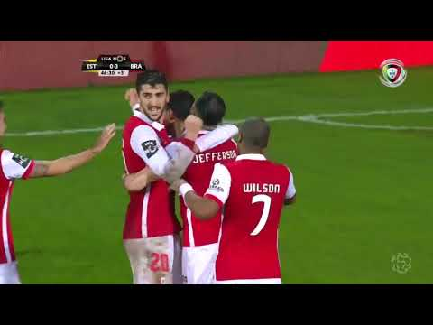 Resumo: Estoril 0-6 Braga (Liga 25ª J)