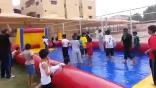 الملعب الصابوني بمدارس الرواد ببريدة 35