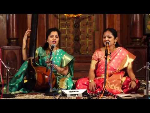 Apoorva Gokhale and Pallavi Joshi  Rag  Alhaiya Bilawal at Kochi