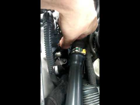 Epuratorul de gaze arse de la un Opel Signum 1.9 dth.