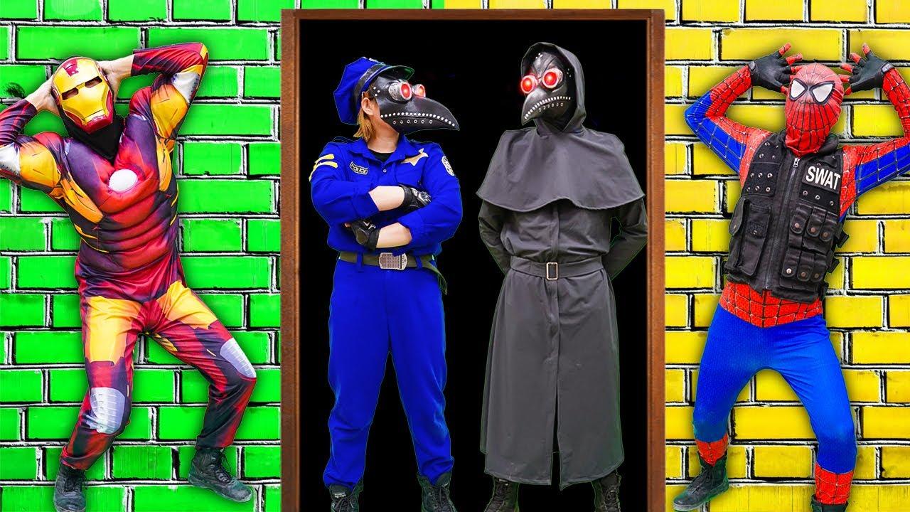 MKTD Nerf Wars : Couple Spiderman SEAL X Nerf Battle Gun Fight Zombie Rescue Lover