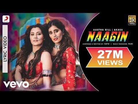 Vayu, Aastha Gill, Akasa, Puri Naagin Official Lyric Video