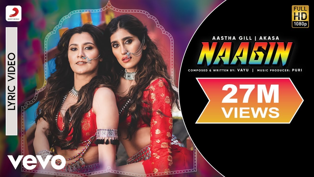 Download Vayu, Aastha Gill, AKASA, PURI - Naagin - Official Lyric Video