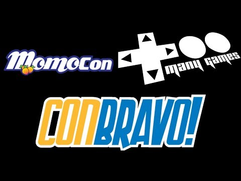 I'm going to be at Momocon, TooManyGames, and ConBravo!