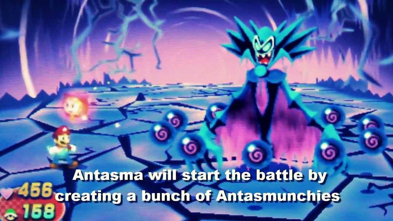 Mario Luigi Dream Team Antasma X Guide