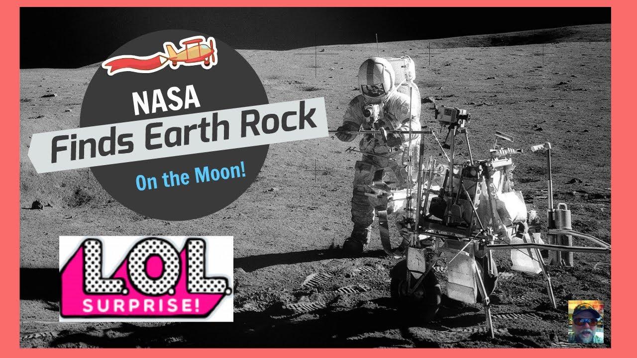 The MOON:  Earth Rock Found by NASA Apollo on Moon