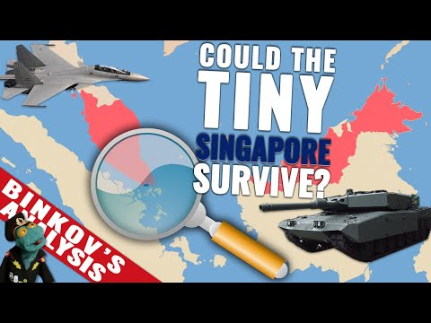 Could Malaysian military conquer Fortress Singapore? (2020)