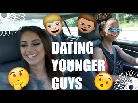 old girl dating younger guy