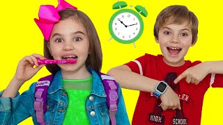 Put On Your Shoes Let's Go Song | Nick and Poli Clothing Sing-Along Nursery Rhymes Kids Song