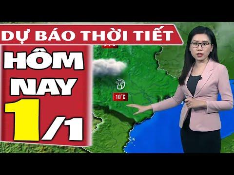 Dự báo thời tiết hôm nay mới nhất ngày 1/1/2021 | Dự báo thời tiết 3 ngày tới