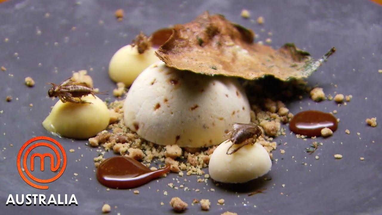 Download There's A Cricket In My Dessert!   MasterChef Australia   MasterChef World