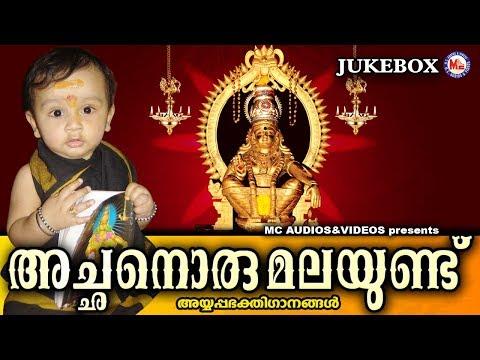അച്ഛനൊരു മലയുണ്ട് | Achanoru Malayundu | Hindu Devotional Songs Malayalam | Ayyappa Songs Malayalam