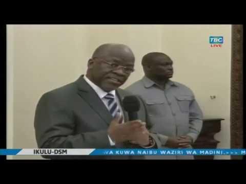 JPM  atengua uteuzi akimuapisha Naibu Waziri wa Madini