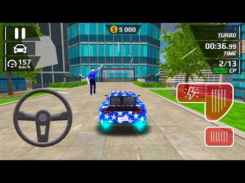 Smash Car Hit#3 - Car Driving Simulator Stunt Ramp - Android IOS Gameplay
