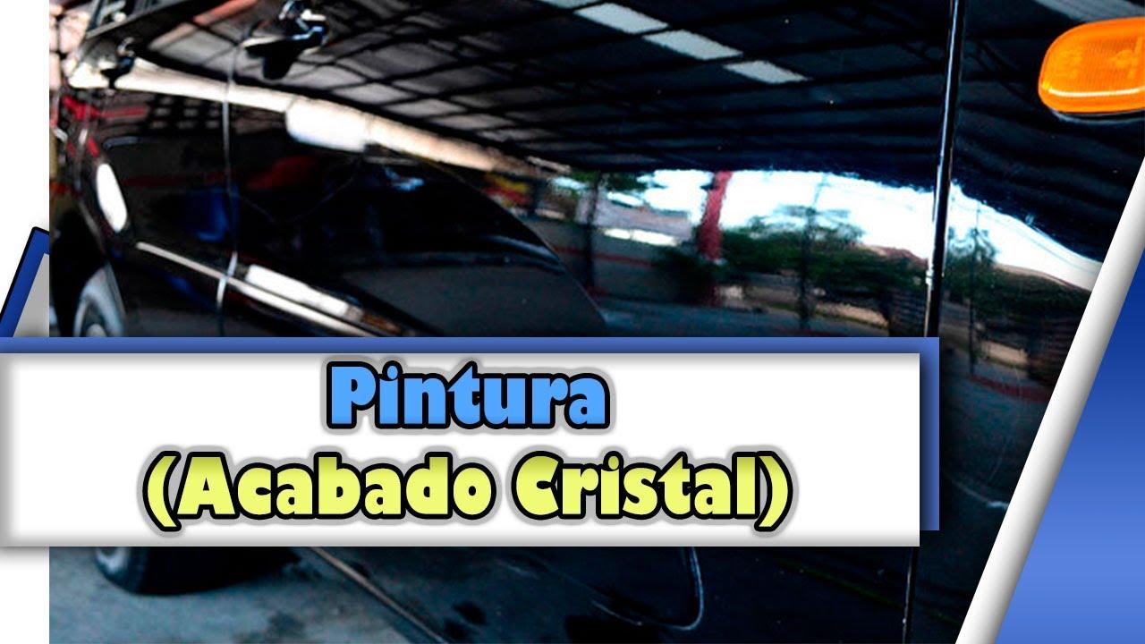 Acabado Cristal Abrillanta Tu Auto Color Negro Youtube