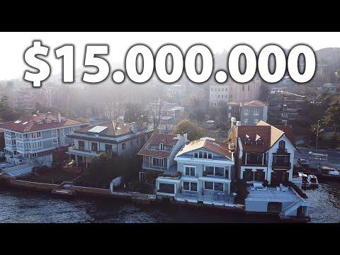 Inside a $15 Million Waterside Istanbul Bosphorus House Tour | Serif The Broker Turkey Vlog #7