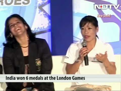 Nobody can stop you winning medals even after having kids: Mary Kom to Saina