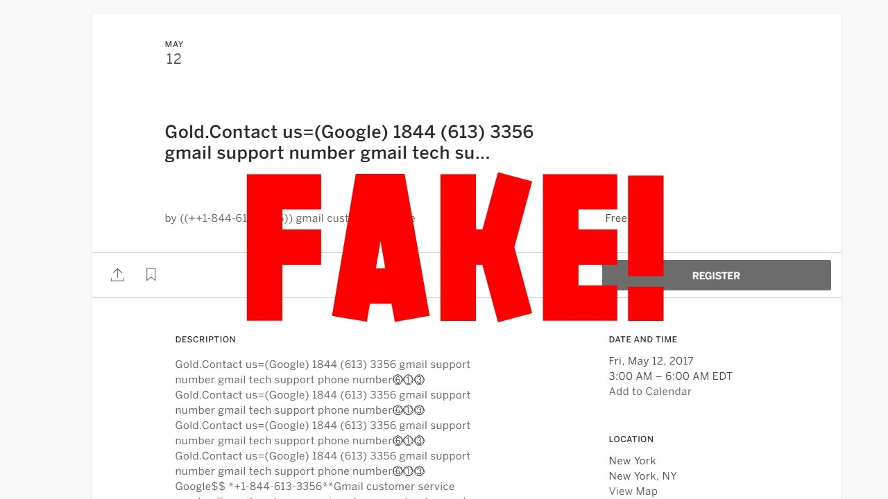 Calling Gmail Support Scammer asking for Gmail Support