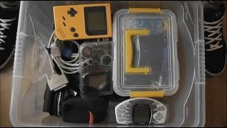 RetroGameTech Update Vid And A Look Inside A Box Of Precious Things!